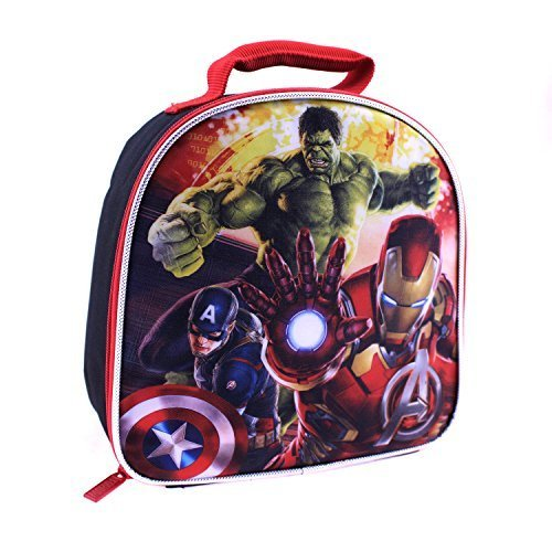 Global Design Concepts Avengers Dome Shaped Lunch Kit, Multi by Global Design Concepts