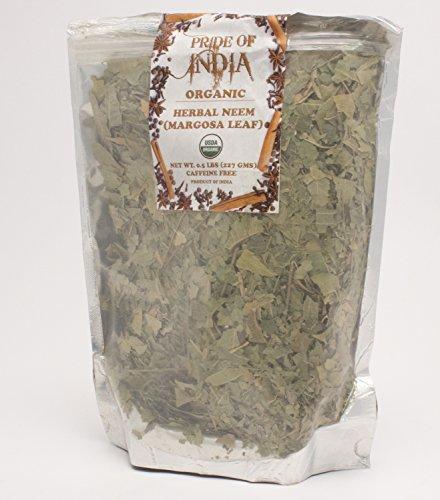 Pride Of India - Biologische Neem/Margosa-kruid, 100 g heel blad