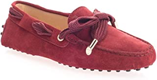 Tod's Luxury Fashion Womens XXW0FW05476RE0R409 Red Loafers   Fall Winter 19