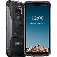 DOOGEE S68 Pro Movil Antigolpes Todoterreno, Helio P70 Octa Core IP68 6GB + 128GB, 4G Smartphone Libres Antigolpes Android 9.0, 6300mAh Cámara 21MP+16MP, 5.9 Inch FHD+, NFC Carga Inalámbrica, Negro