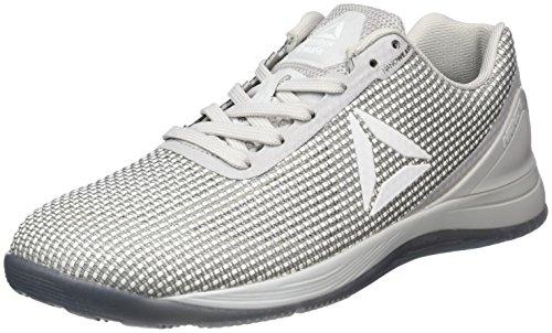 Reebok Reebok Herren R Crossfit Nano 7.0 Sneaker Low Hals, Grau (Grigio Skull Grey/White/Black/Asteroid Dust), 46 EU