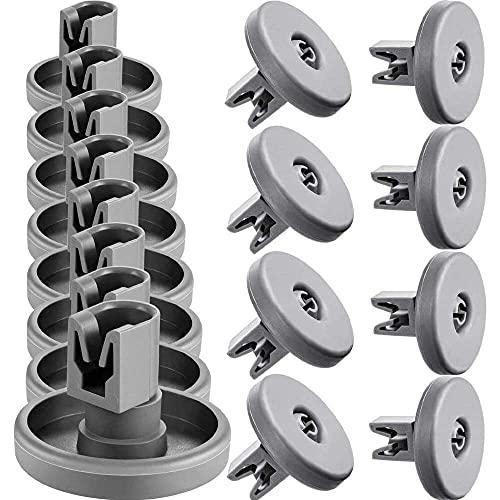Yuyanshop Paquete de 16 ruedas para lavavajillas AEG Favorit Zanussi