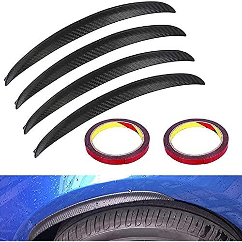 ユニバーサルマッドガードワイドナーカーボン33cmホイールアーチレールカーホイールエクステンションワイドナーカーホイールプロテクションデコレーション