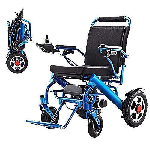 WENZHEN Zusammenklappbarer Tragbarer Elektrorollstuhl Leichtes Elektrorollstuhl-Antriebsrad Mit Doppelfunktion Für Faltbare Rollstühle Für Alte Menschen
