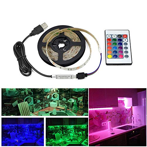 Led lamp Keuken Slaapkamer Decoratie led Kast Onder lamp RGB Strip Lint TV Backlit pc Deur Wanddecoratie lamp String