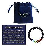 Believe London Chakra Bracelet (18cm)