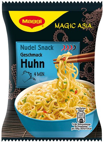12x Maggi - Magic Asia Nudel Snack Huhn