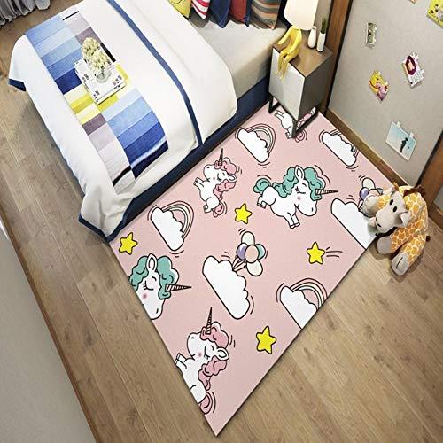 Ysy Nordic pluche kunstdruk tapijt thuis slaapkamer woonkamer salontafel badkamer keuken gemakkelijk te reinigen
