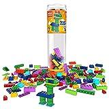 Mega Construx Set Tubo Costruzioni Large da 220 Mattoncini, Giocattolo per Bambini 4+Anni,GVM51