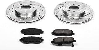 Power Stop K690 Front Brake Kit with Drilled/Slotted Brake Rotors and Z23 Evolution Ceramic Brake Pads