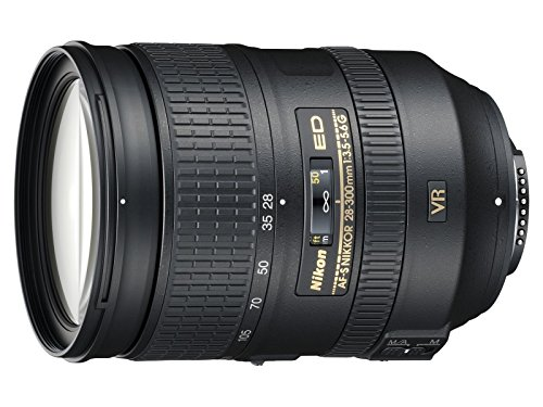 Nikon AF-S FX NIKKOR 28-300mm f/3.5-5.6G ED Vibration Reduction Zoom Lens with Auto Focus for Nikon DSLR Cameras (Renewed)