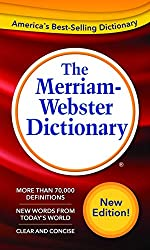 small Merriam-Webster Dictionary, latest version, mass market paperback