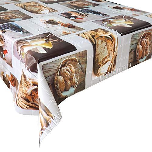 Mantel Hule Gourmet · Mantel Antimanchas Resistente y Lavable · Mantel Mesa Rectangular en PVC · Hules para Mesas · Múltiples Diseños y Económicos · Medidas ( 120 cm x 140 cm )