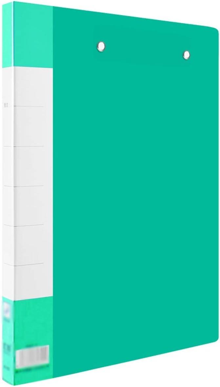 Excellence Finally popular brand WZWHJ Exquisite Folder Plastic O Report Presentation Data