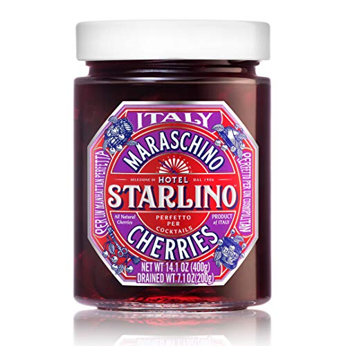 Starlino Italian Maraschino Cherries