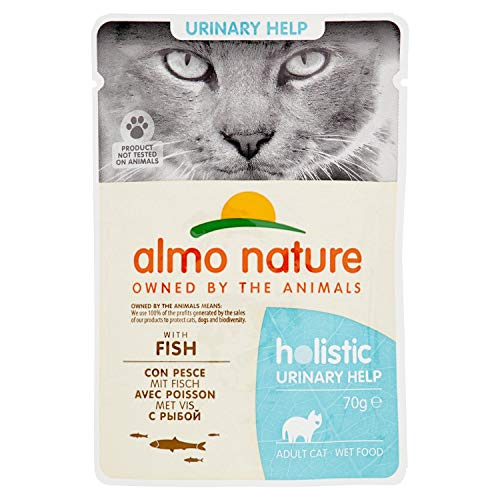 Almo Nature Cat Urinary Support Pesce, 70g