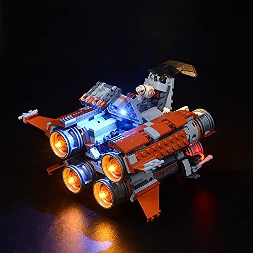 LODIY LED Licht Set für Lego Star Wars Jakku Quadjumper 75178 , Beleuchtung für Lego 75178 (NUR Licht, Nicht Enthalten Lego Modell)