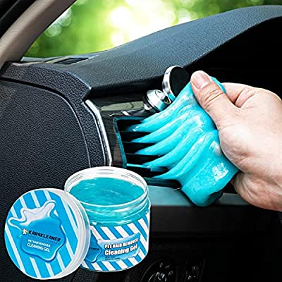 Car Cleaning Gel, Car Accessories Cleaning Kit Car Cleaner Interior Detailing Kit Essentials for Car Dust Detail Removal Keyboard Cleaner for Automative Care, Air Vent, PC, Laptops, Pets Hair Remover