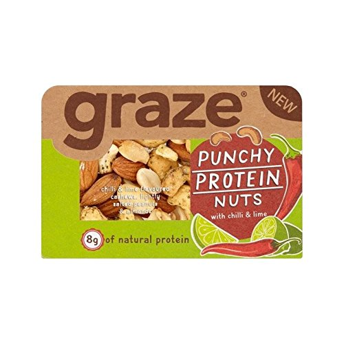 Graze Punchy Protein Nuts 35g - Pack of 6