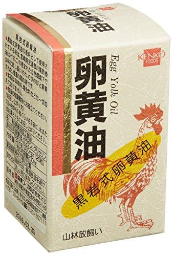 健康フーズ 卵黄油 120粒