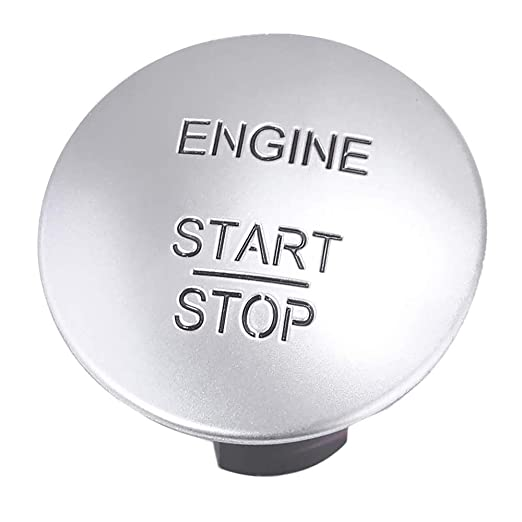 Keyless Go Start Ignition Button 2215450714 2215450514 33161207 Start Stop Push Button Fit for Mercedes-Benz C250 C300 E350 GL350 GL450 ML350 S550 SL500 Year 2010 and Up