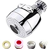Faucet Spray Head Tap Aerator 360° Swivel Kitchen Tap, Mixer Aerators for Kitchen Sink, Replacement Tap Spout...