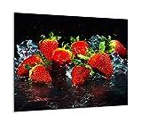 QTA - Placa protectora de vitrocerámica 60 x 52 cm 1 pieza cocina eléctrica...