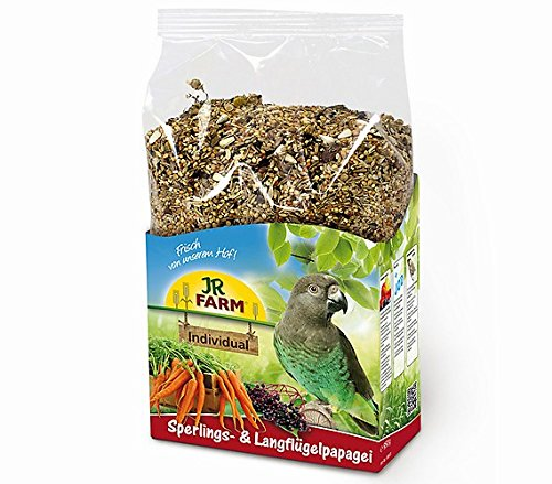 Premium Sperlings- und Langflügelpapageien  Alleinfuttermittel für Sperlingspapageien und Langflügelpapageien.