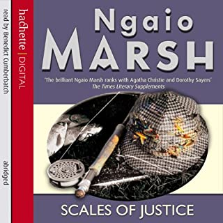 Scales of Justice audiobook cover art