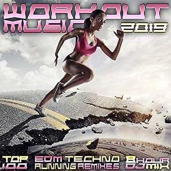 Workout Music 2019 Top 100 EDM Techno Running Remixes 8 Hr DJ Mix