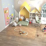Immagine 2 homcom tappeto puzzle antiscivolo effetto