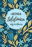 Agenda Telefónica Abecedario: Libreta de direcciones y contactos telefónicos ordenación de la A-Z | 324 registros | Agenda de teléfonos vintage | ... | Listín telefónico A5 letra grande