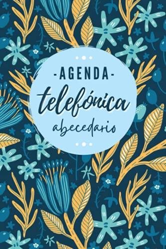Agenda Telefónica Abecedario: Libreta de direcciones y contactos telefónicos ordenación de la A-Z   324 registros   Agenda de teléfonos vintage   ...   Listín telefónico A5 letra grande