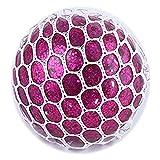 Vent Squeeze Toys Bolas de UVA Tricky Decompression Toys Creative Water Polo (púrpura)