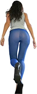 LinvMe Women's Hot Sexy See Through Sheer Mesh Long Pants Legging