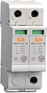 Elmex AC Surge Protection Device - 320 V with 1+1 Pole