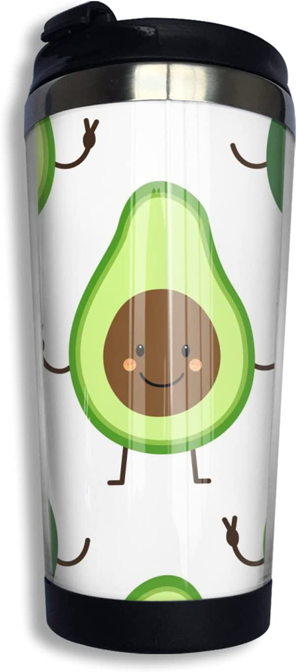 Baby Avocado Luxury goods Cup Drinking Los Angeles Mall Coffee Stainless Steel