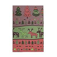 パズルchristmas Deers and Trees 1000ピース 木製パズルミニ 大人の減圧 絶妙な誕生日プレゼント