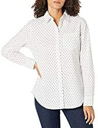 This classic, versatile shirt provides an easy look perfect for any occasion Everyday made better: we listen to customer feedback and fine-tune every detail to ensure quality, fit, and comfort Sizes run large, so think about getting the size down