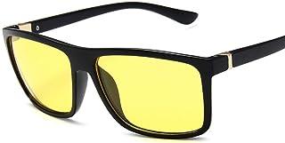 YZCX - Gafas de Sol de los Hombres Pesca Sombra Conducción Gafas de Sol clásicas cuadradas clásicas Hombres
