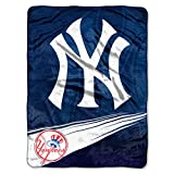 MLB New York Yankees 'Speed' Raschel Throw Blanket, 60' x 80'