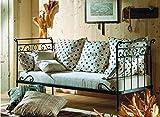 Decoración Beltrán Sofa-Cama de forja Mod. Abril de 228x100cms.