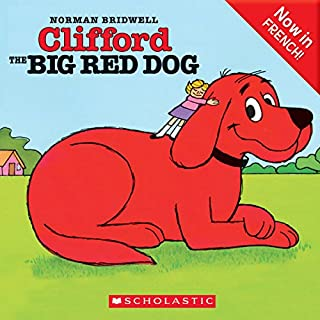 Couverture de Clifford the Big Red Dog (French Edition)
