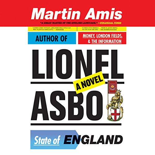 Lionel Asbo audiobook cover art