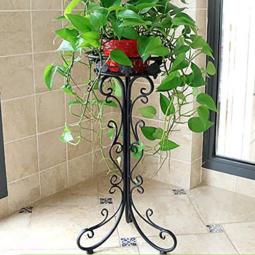 YXZQ Sukkulentenständer, Blumenständer, einfaches schmiedeeisernes Innengartenregal Balkon Gartenregal Außenpflanzenregal Abnehmbarer Blumenständer Büroecke Wohnkultur
