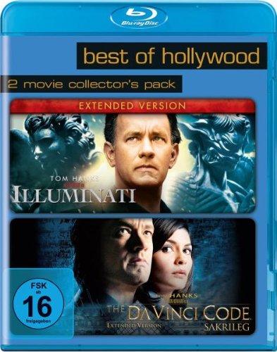 Illuminati/The Da Vinci Code - Sakrileg - Best of Hollywood/2 Movie Collector's Pack [Blu-ray]