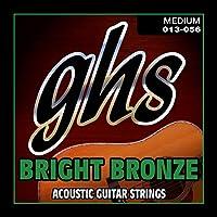ghs アコースティックギター弦 BRIGHT BRONZE/ブライトブロンズ ミディアム 13-56 BB40M