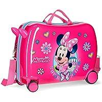 Maleta infantil ruedas multidireccionales Minnie Super Helpers