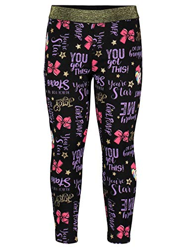 JoJo Siwa Little Girls Unicorn Jogger Pants, Black 5