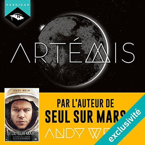 Artémis audiobook cover art